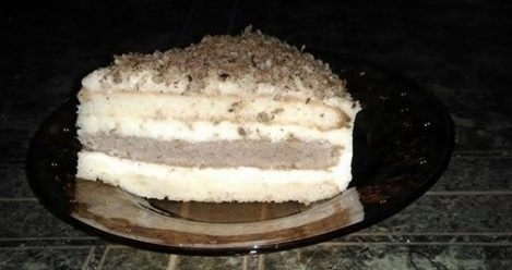 Домашна торта с млечен крем