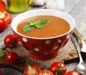 Крем супа с моркови и ябълки