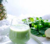 Зелен ласкател - без мляко