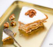 Морковено - ябълкова торта