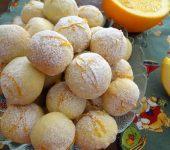Коледни портокалови топки сладки